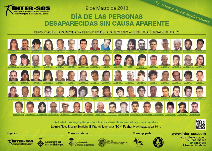 9 de marzo: día de las personas desaparecidas sin causa aparente ...